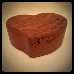 Handmade Small Jewelry Box